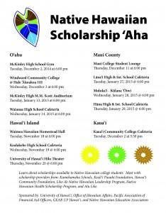 Native Hawaiian Scholarship 'Aha @ Kaua'i Community College Cafeteria | Līhuʻe | Hawaii | United States